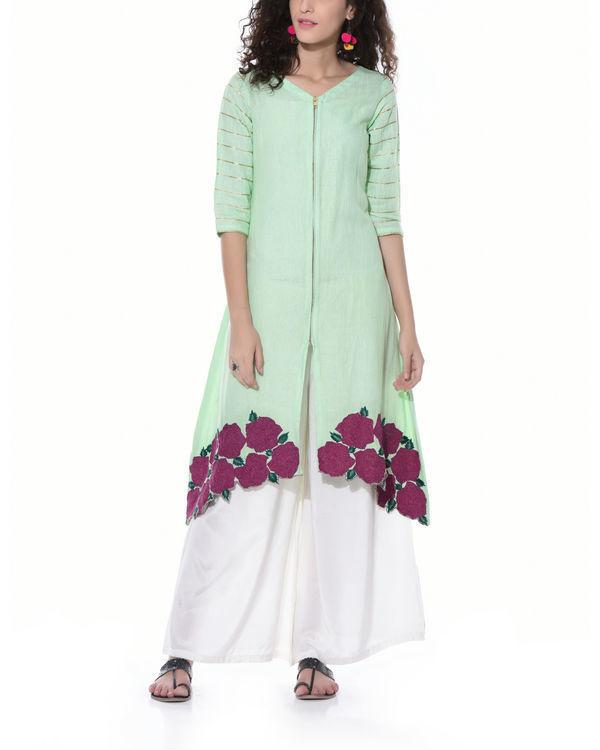 Sorbet green tunic
