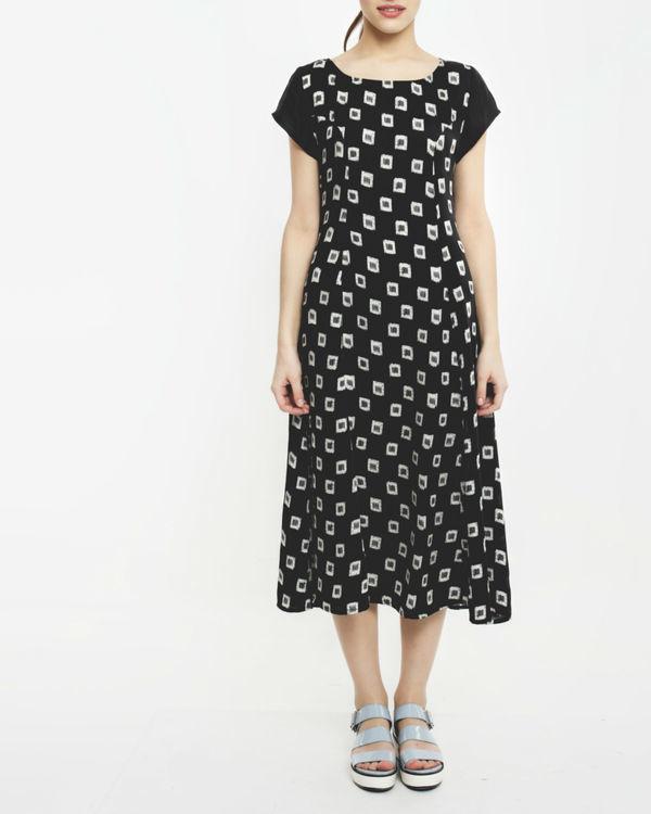 Prussian ikat dress