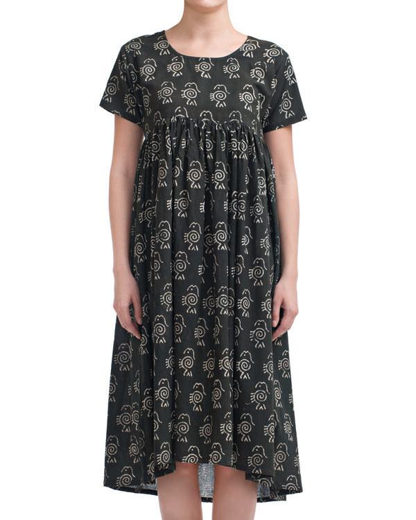 Charcoal fish dress