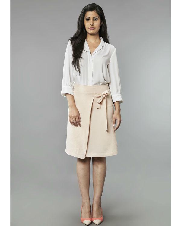 Summer wrap skirt