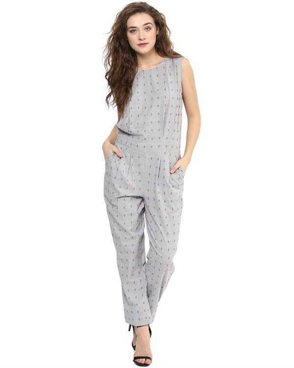 Grey summer jumpsuit