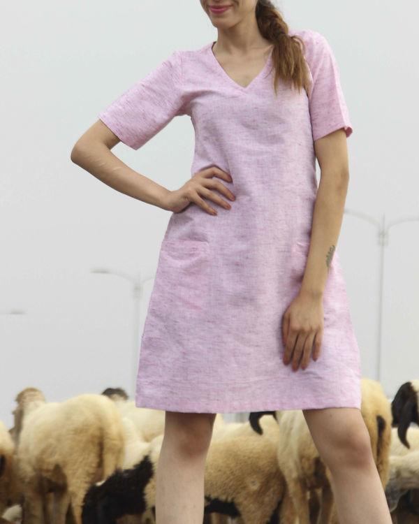 Pristine pink straight dress