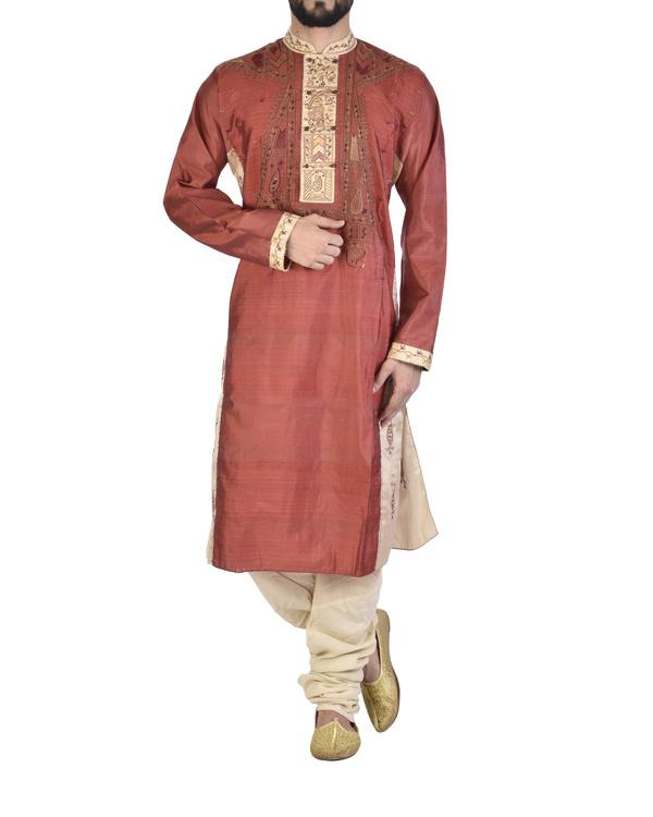 Pure silk sherwani