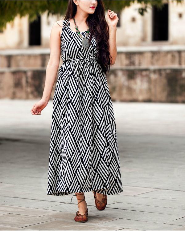 Kohl striped dress