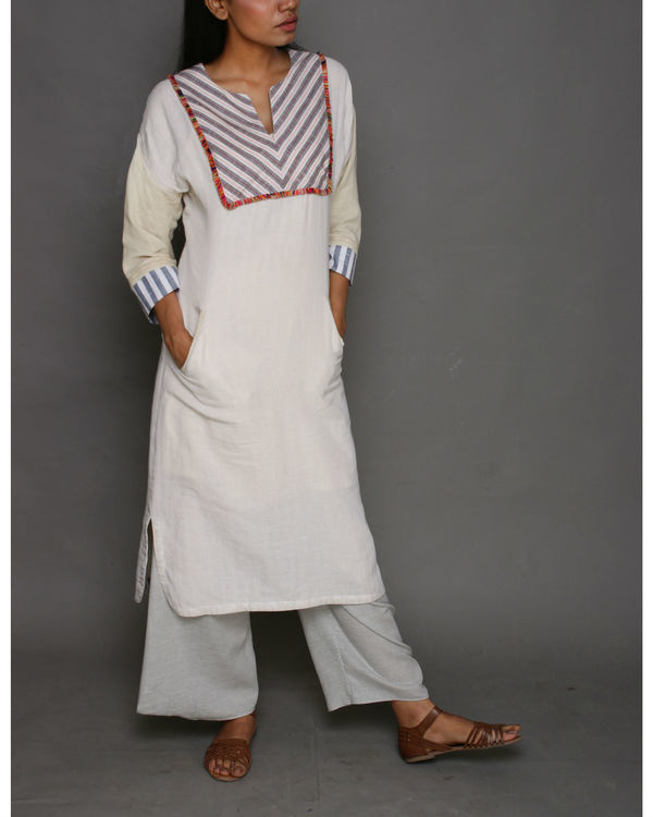 Cotton folk tunic