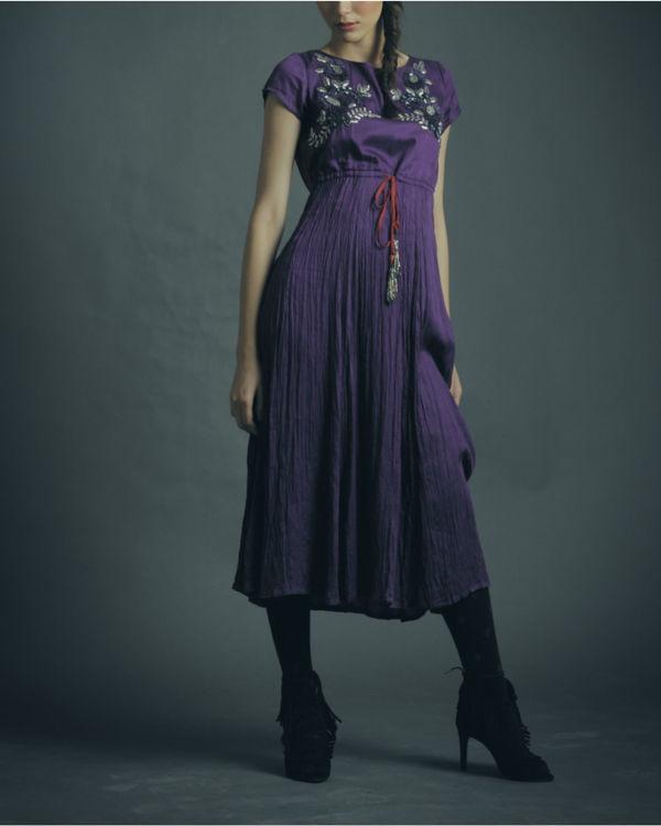 Lyla purple dress