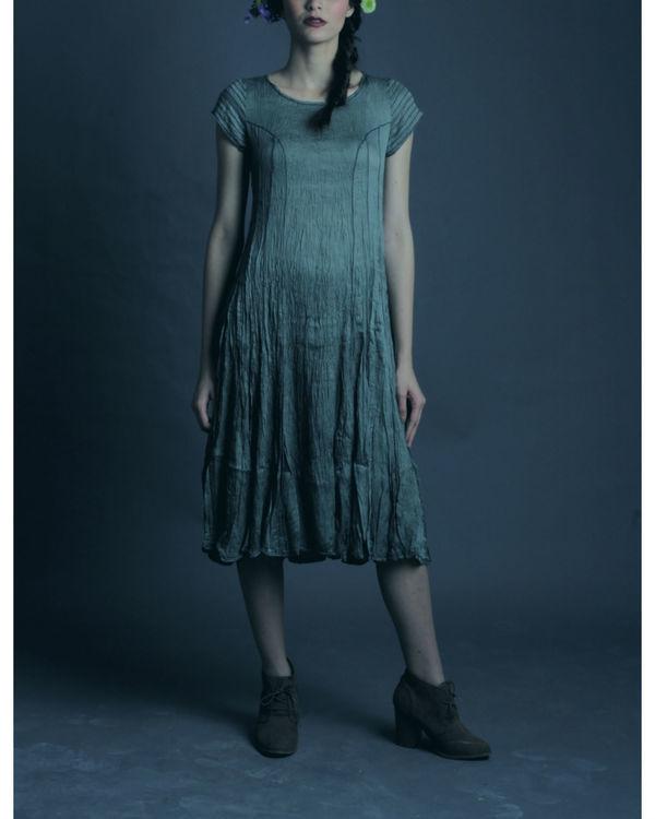 Zaria sage dress