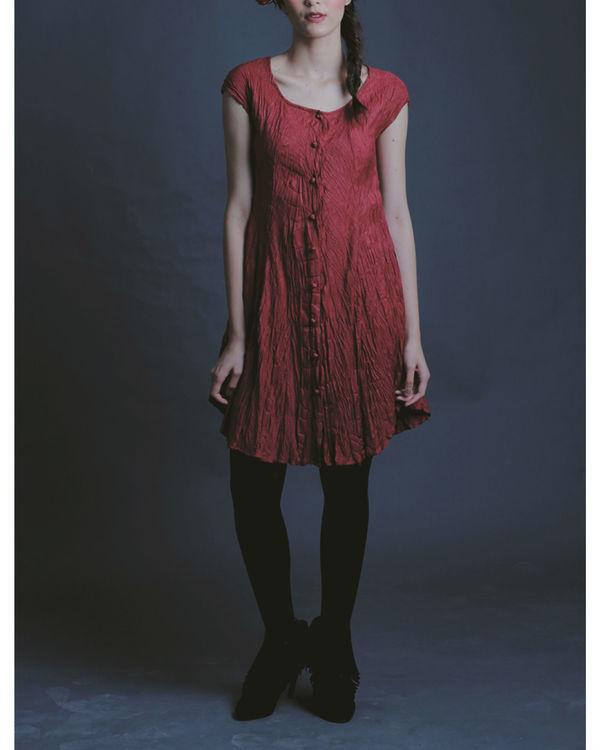 Ala crinkle dress