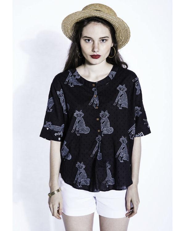 Kuro jagger blouse