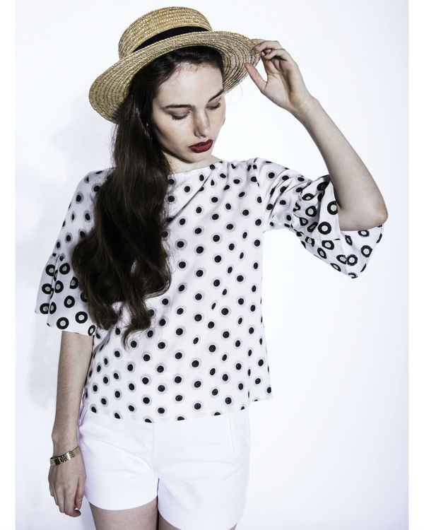 Shiro dots top
