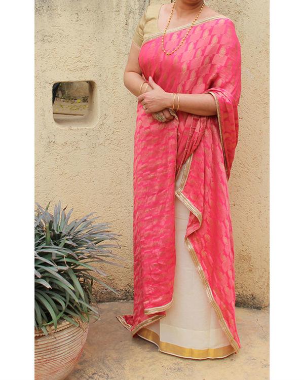 Paisley sarong saree