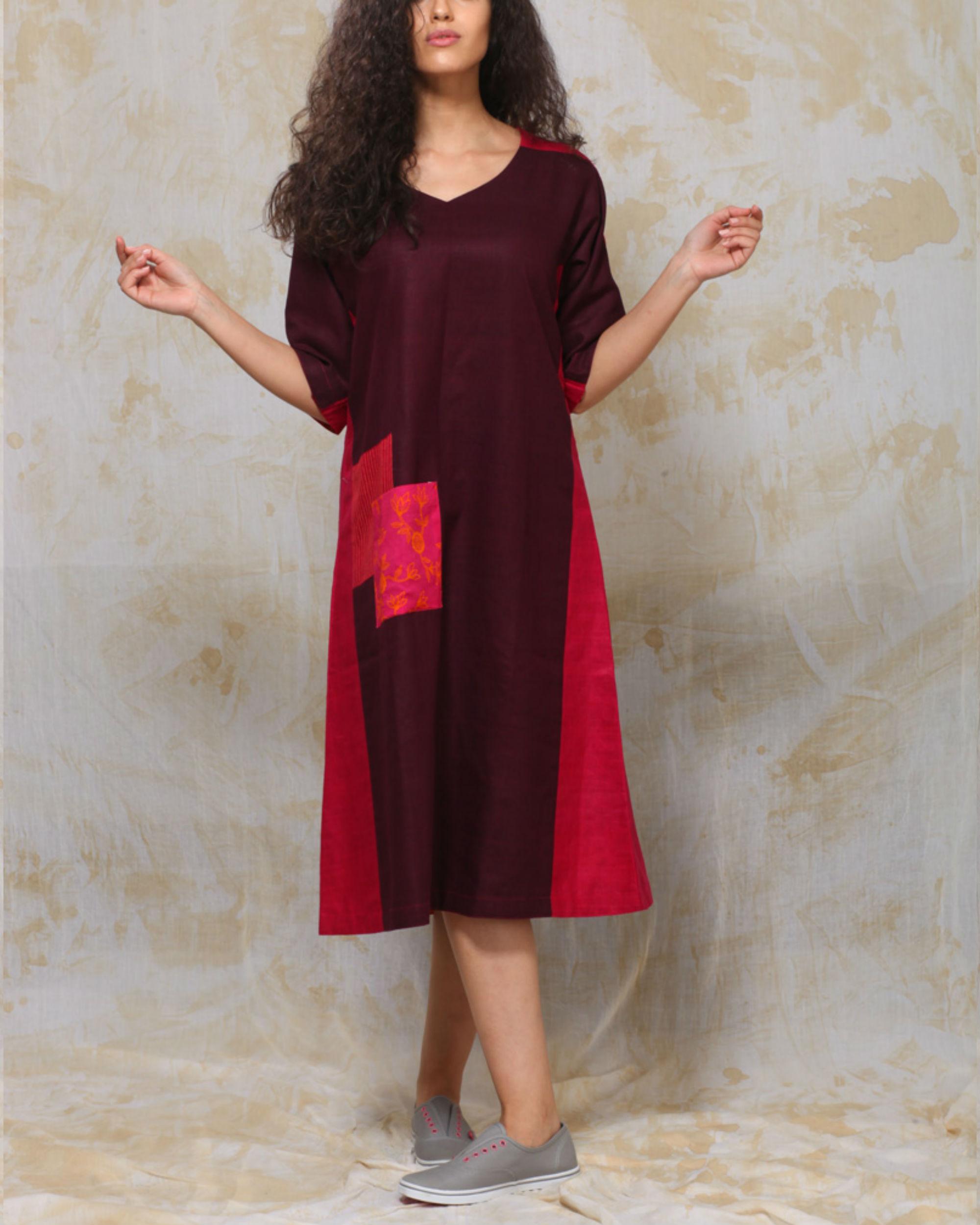3bc5b016050b Summer plum dress by Udd | The Secret Label