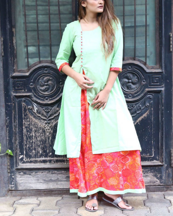 Mint layered maxi