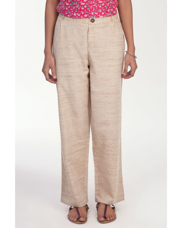 Gemma beige pants