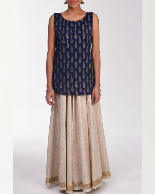 Moksha beige skirt