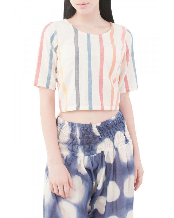 Ivory hath blouse