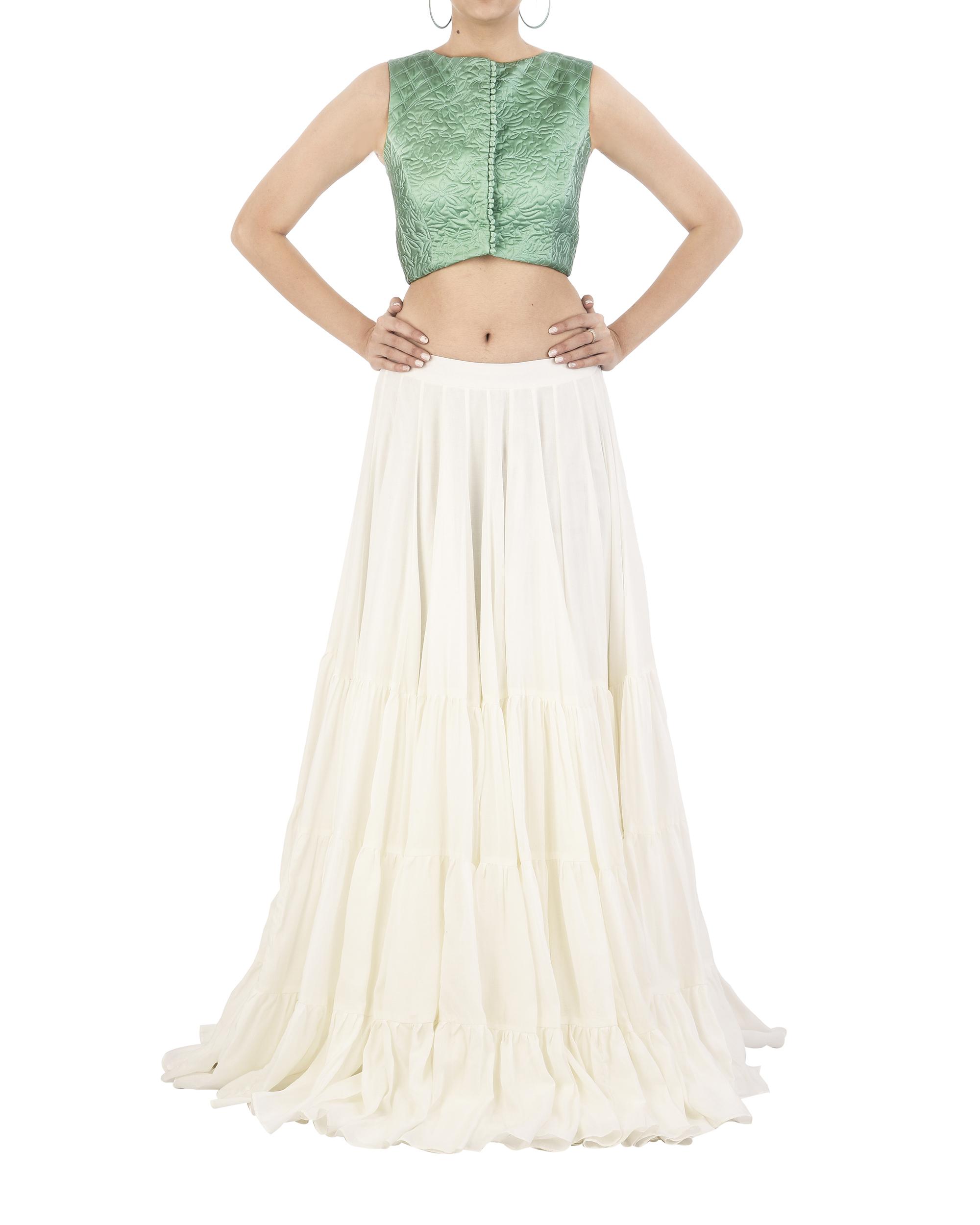 Off-white mal mal skirt