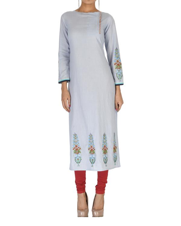 Cotton embroidered kurta