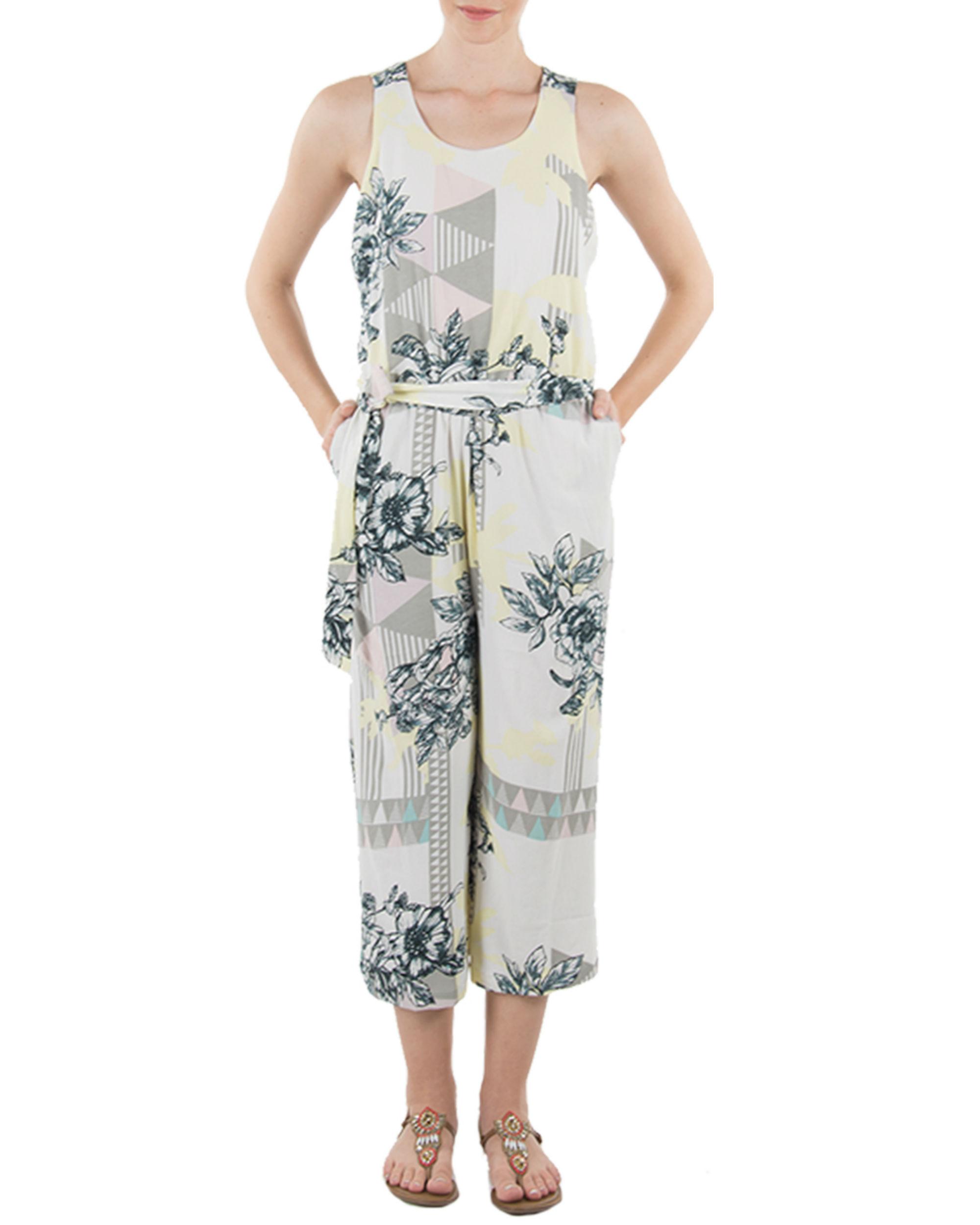 White floral jumper