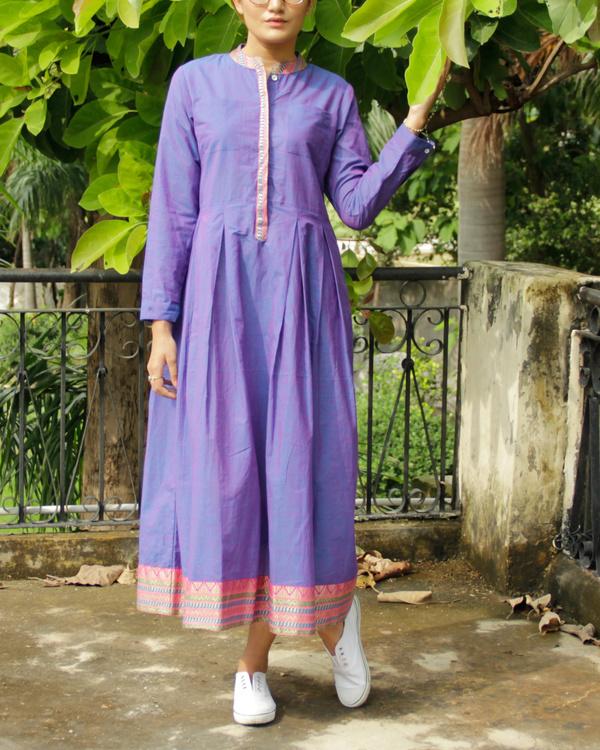 Violet mangalgiri dress