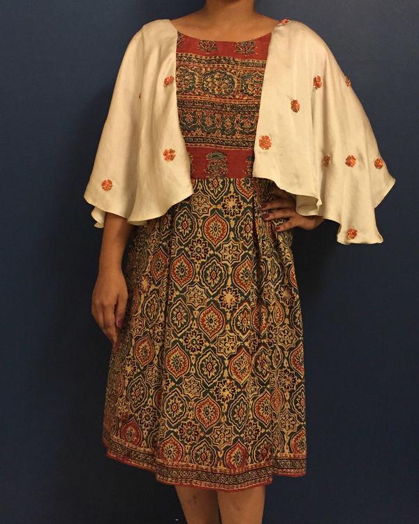 Kutch cape dress