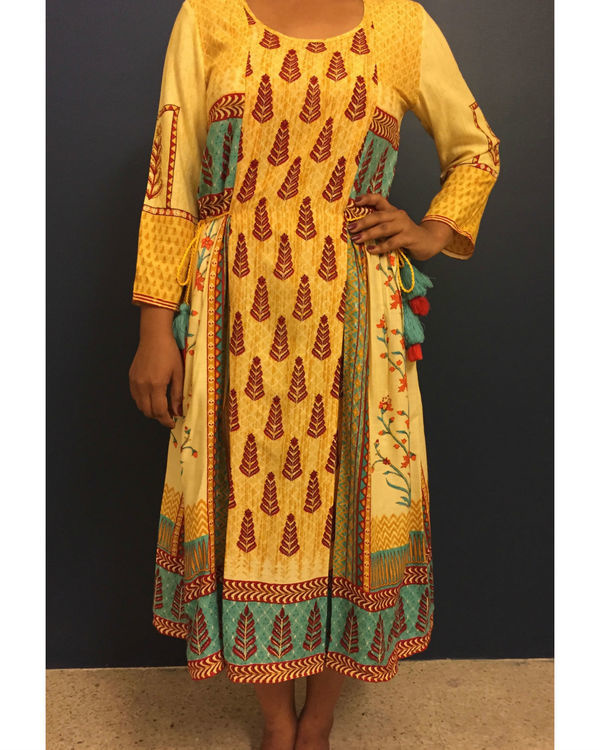 Yellow banjara dress