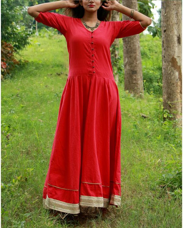 Red tara dress