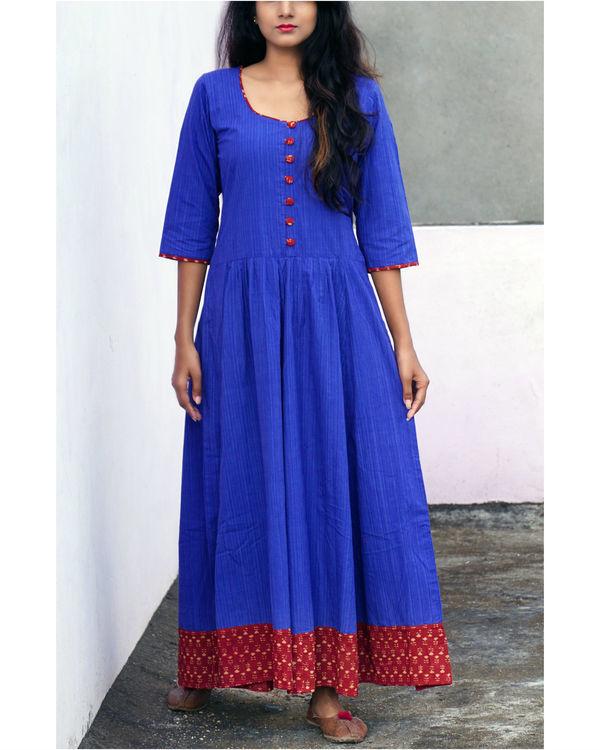 Blue tara dress