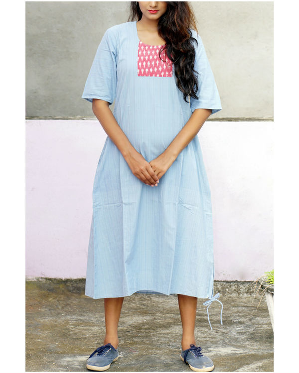 Ice blue tara dress