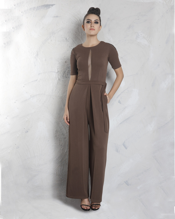 Cedar pleated jumpsuit