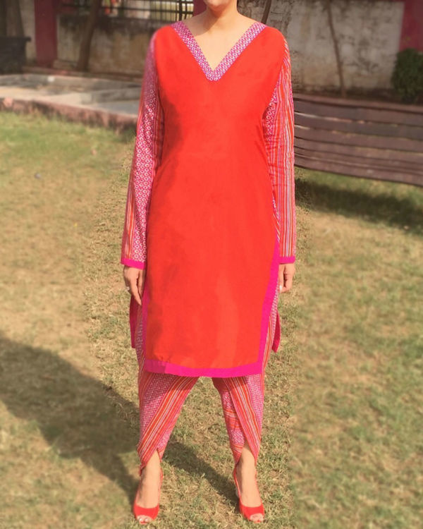 Sunkissed kurta set