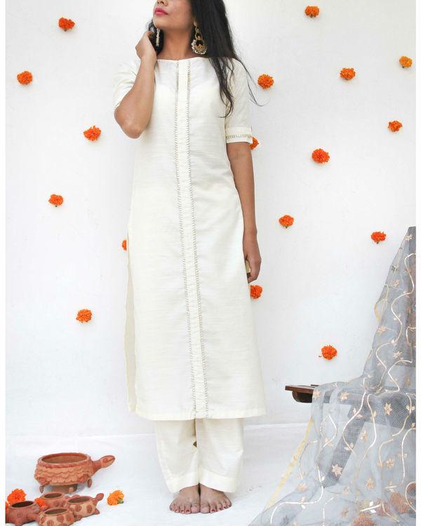 Ivory serene suit set