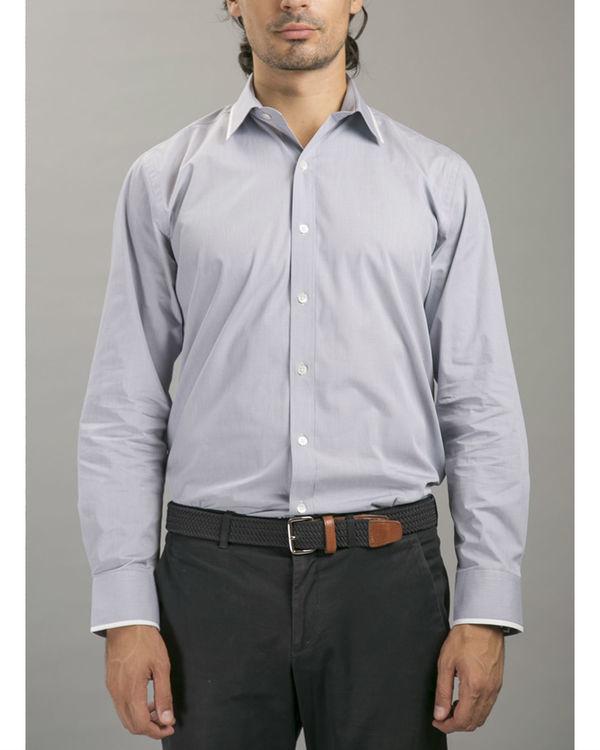 Grey boardroom shirt