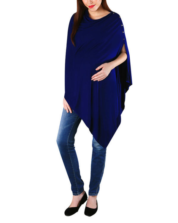 Royal blue coverup