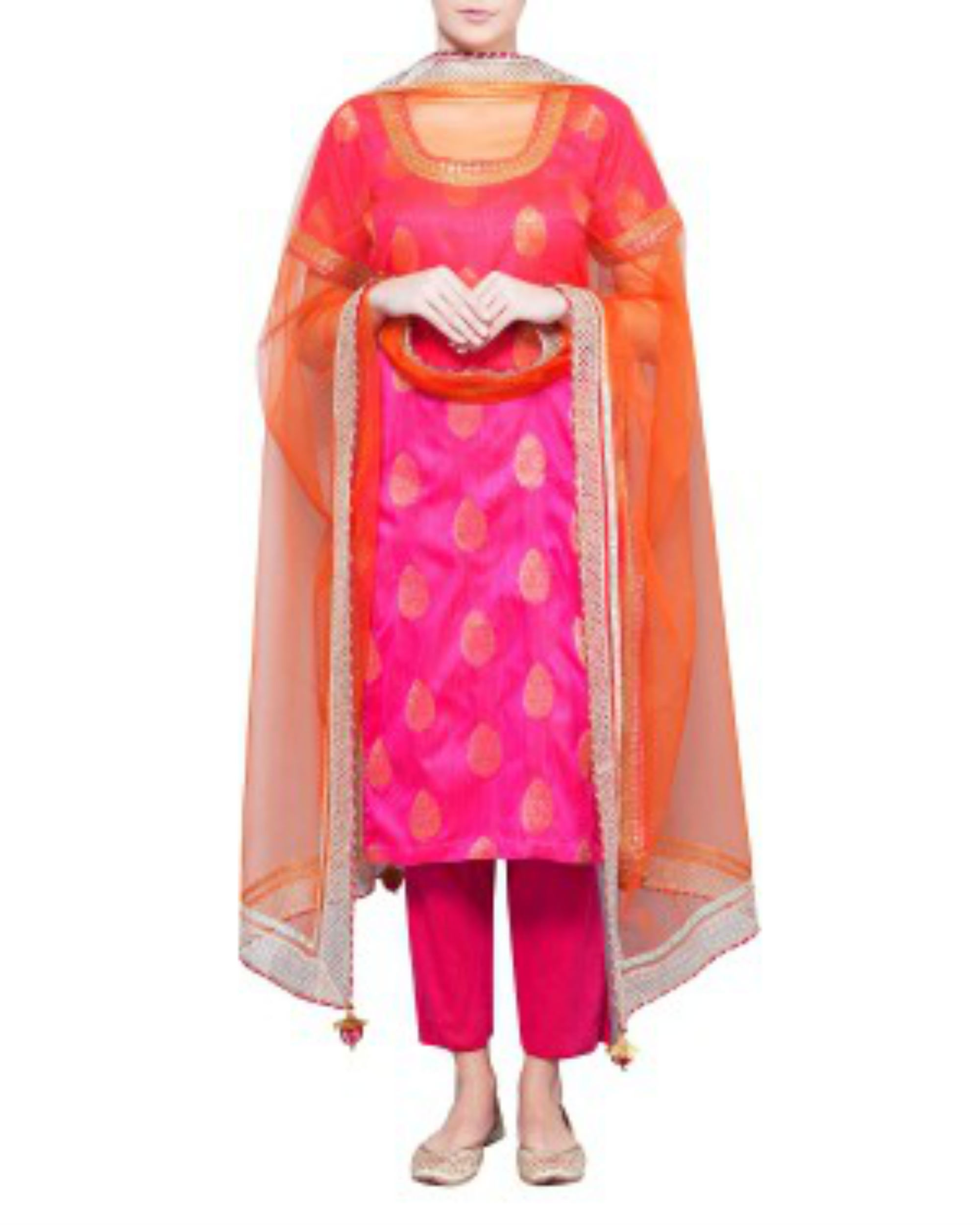 Rose kurta set