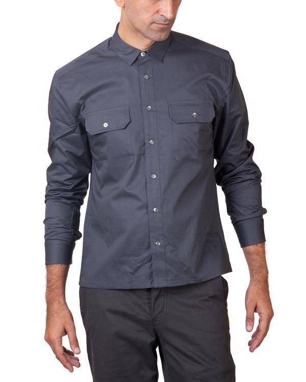 Grey utility shirt