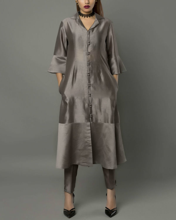 Vira grey kurta set