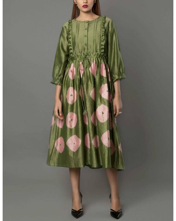 Notte olive dress