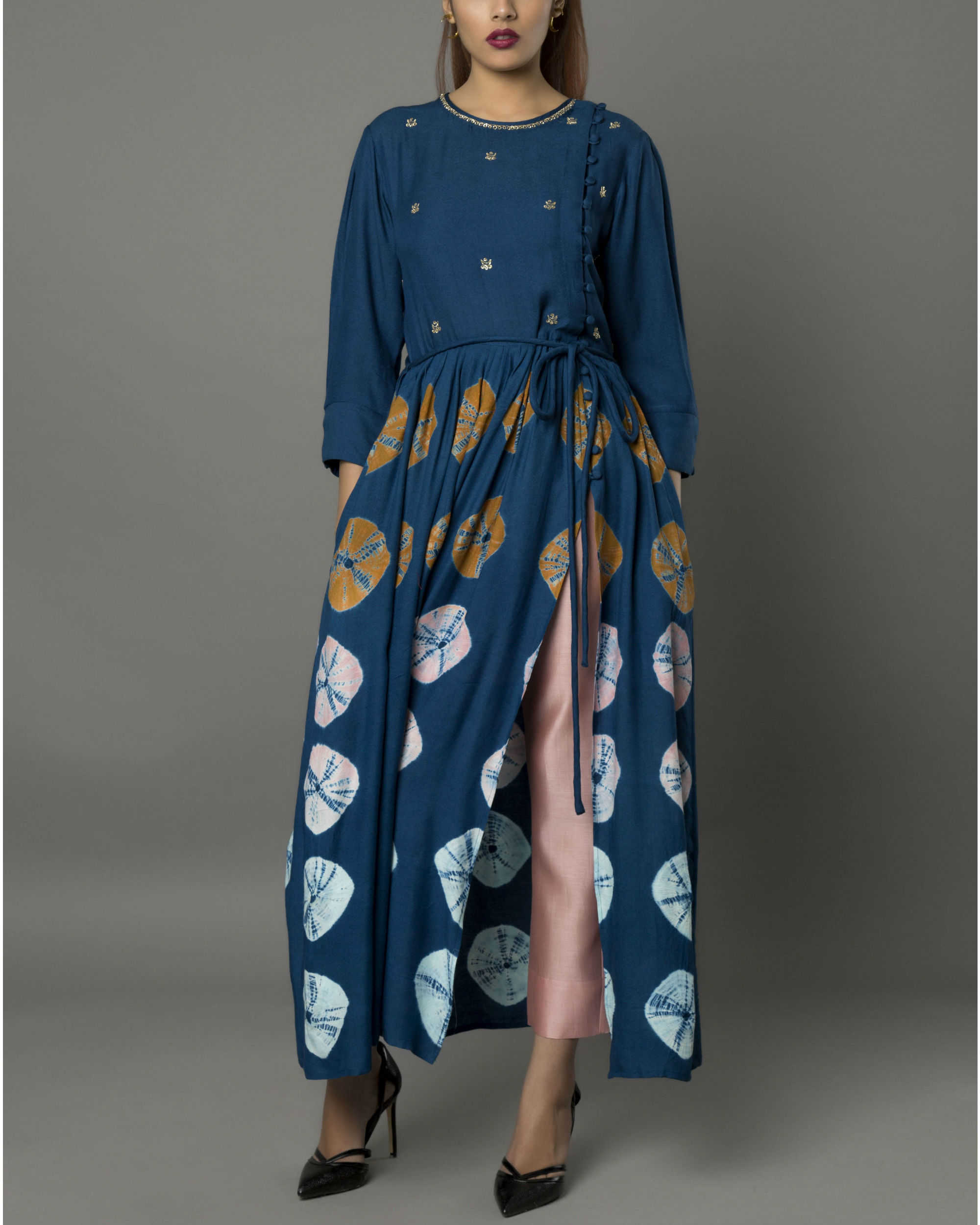 Kooki navy tunic