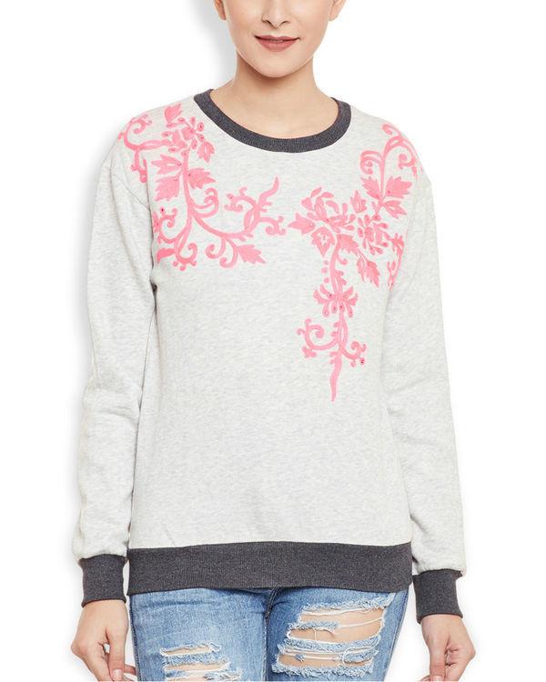 Neon grey sweatshirt