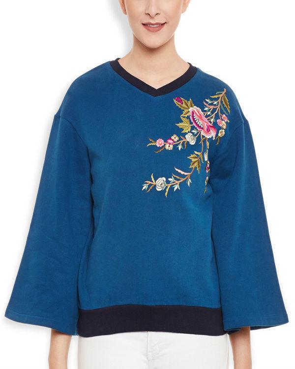Oriental sweatshirt