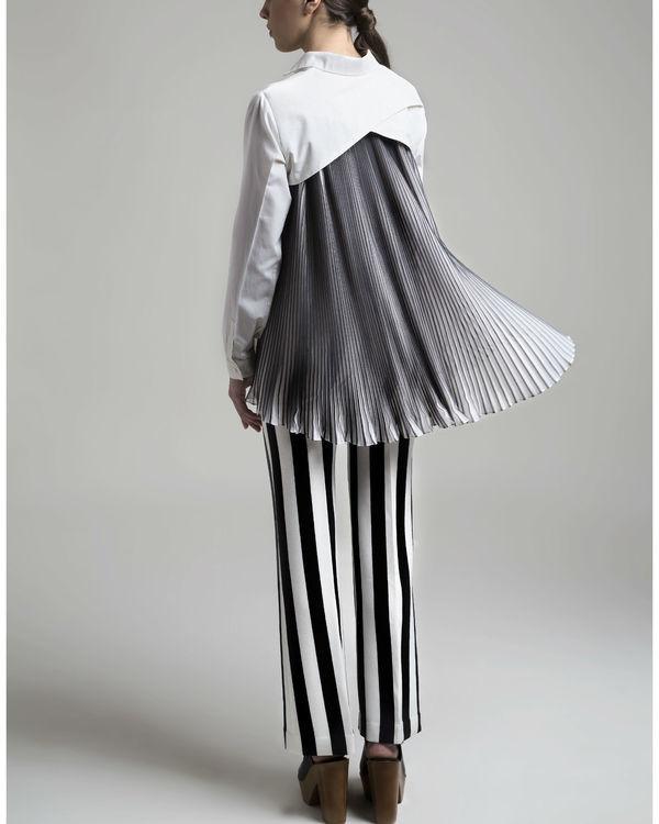 Oxford accordion shirt