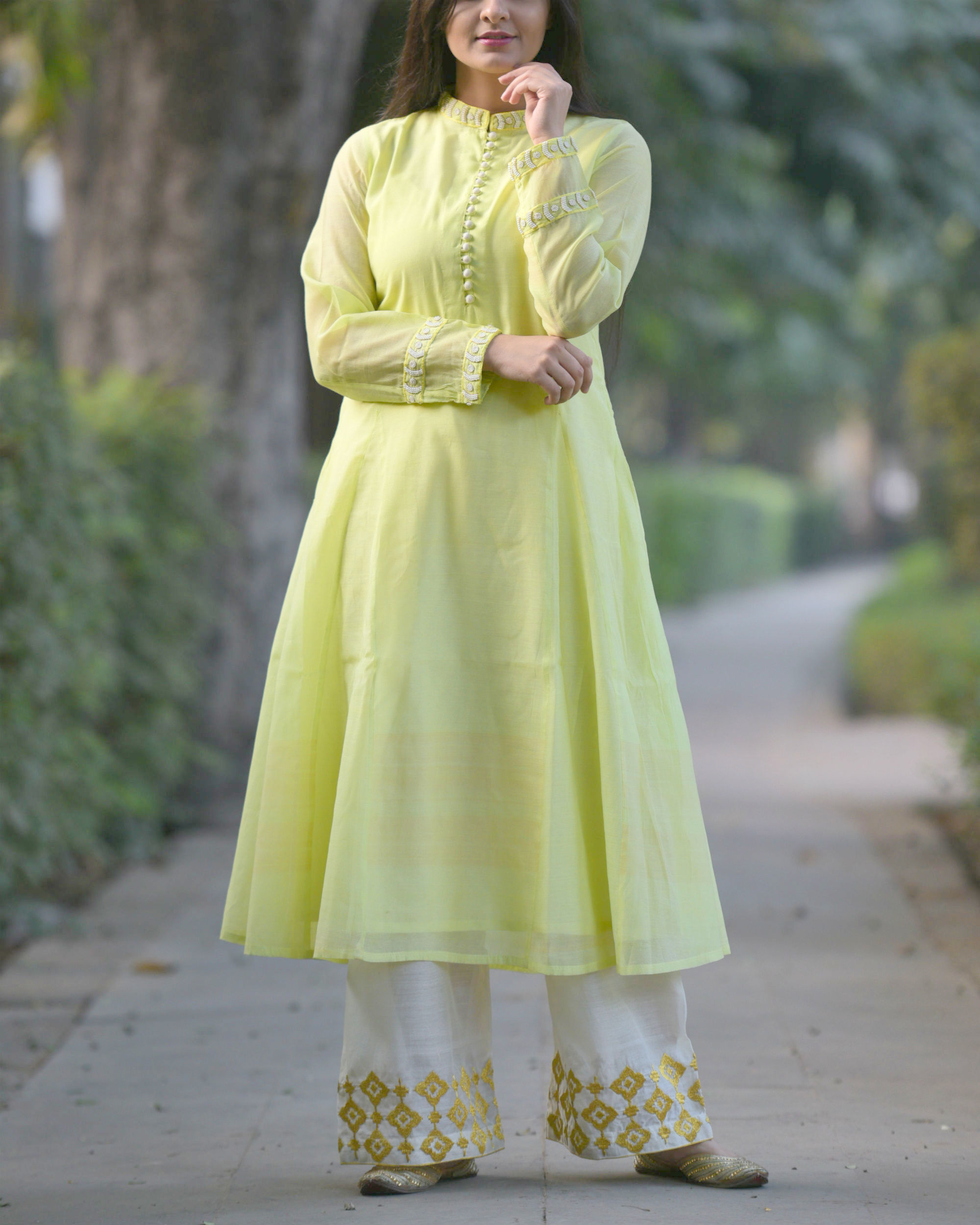 Vintage Green tunic