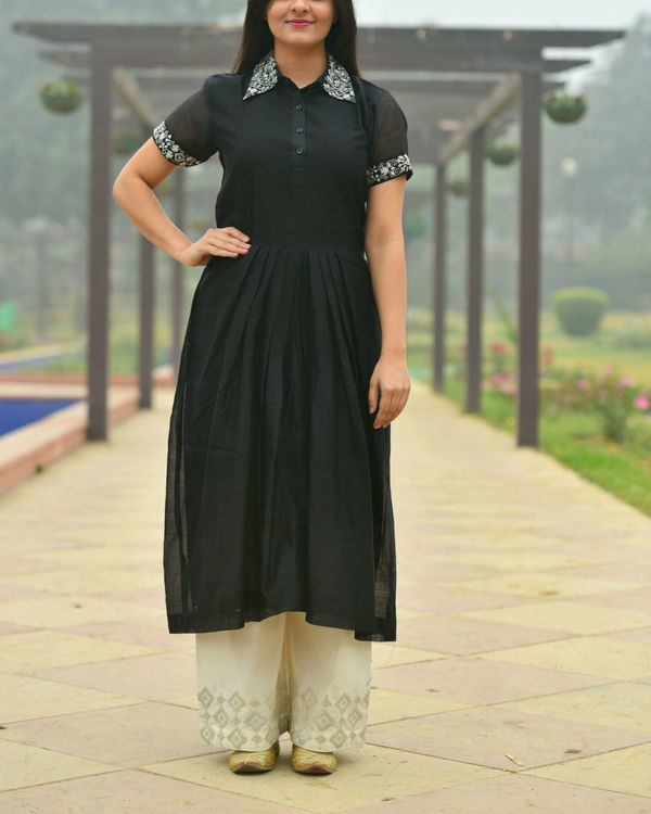 Black bahar tunic