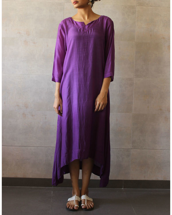 Violet ombre tunic