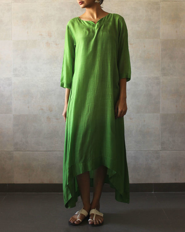 Green ombre tunic