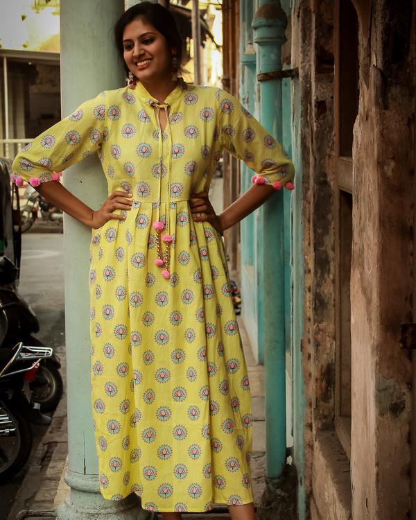 Phulwari maxi dress