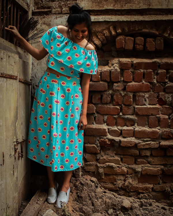 Phulwari skirt