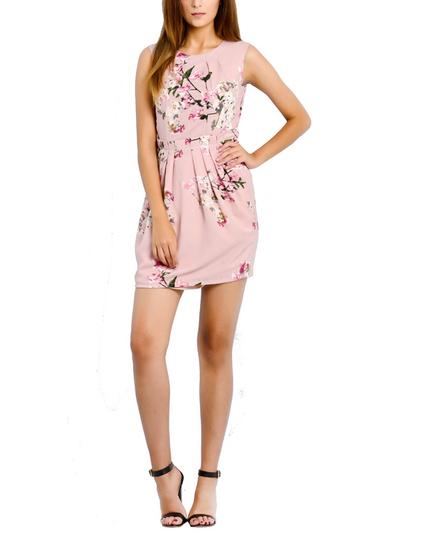 Pink brunch dress