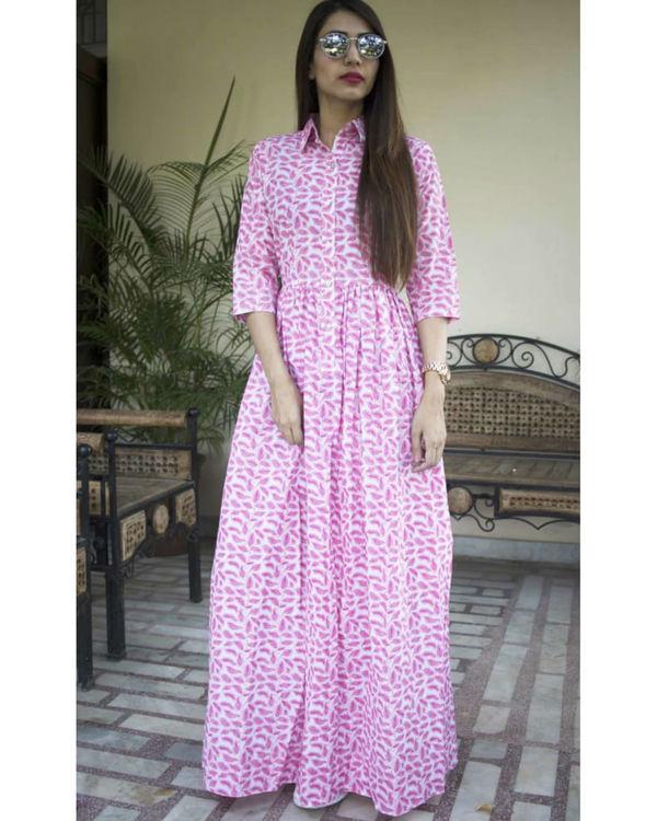 Pink patti maxi dress